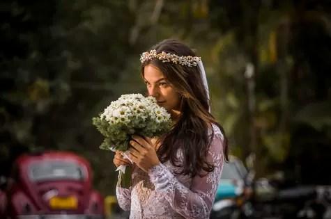 Isis Valverde se veste de noiva para 'Boogie oogie' (Foto: Globo/Paulo Belote)