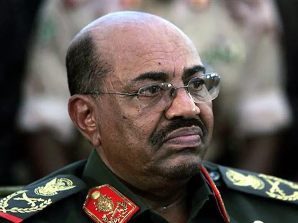 Presidente do Sudão, Omar al-Bashir, em imagem de arquivo (Foto: AP )
