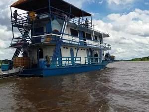 Naufrágio de barco-hotel no Pantanal de MS deixa 13 desaparecidos - GNews (Foto: Reprodução/GloboNews)