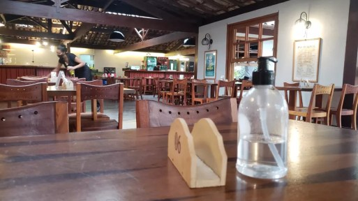 Restaurante, bar — Foto: Danilo Girundi / TV Globo