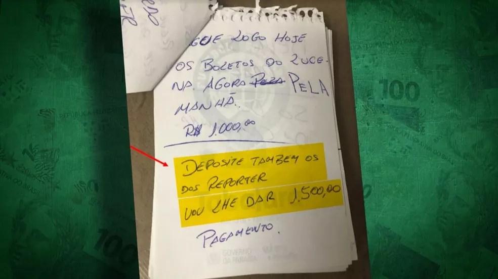 Jornalistas locais foram subornados para não produzirem reportagens sobre atos de corrupção na Federação Paraibana — Foto: Reprodução