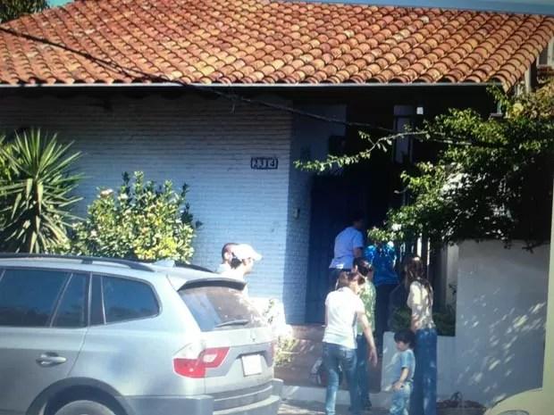 Policiais vigiaram rotina de Abdelmassih com a mulher. (Foto: Divulgação/Secretaria Nacional Antidrogas do Paraguai)