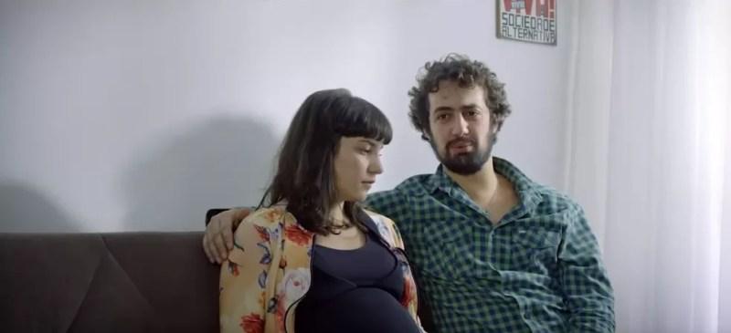 Cena do filme brasiliense 'Eu sinto muito', de Cristiano Vieira — Foto: Eu sinto muito/Reprodução