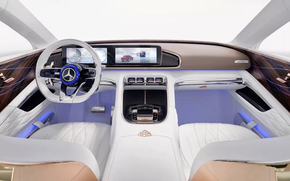 Interior do Mercedes-Maybach Ultimate Luxury (Foto: Divulgação)