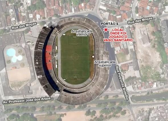 Mapa Arruda (Foto: Infográfico)