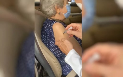 Filha diz que idosa só recebeu vacina contra Covid-19 após ela denunciar  que líquido não foi aplicado na 1ª tentativa; vídeo | Goiás | G1