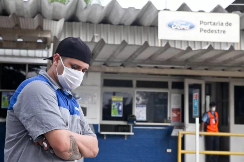 Ford anunciou o fechamento das três fábricas que mantinha no Brasil, uma delas em Taubaté, no interior de SP — Foto: Rogério Marques/Futura Press/Estadão Conteúdo