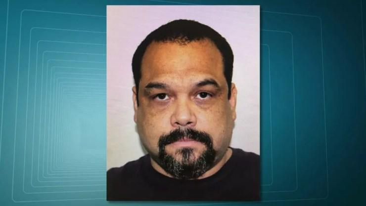 Barbieri é o homem que enviou fuzis para o Rio, segundo polícia (Foto: Reprodução/RJTV)