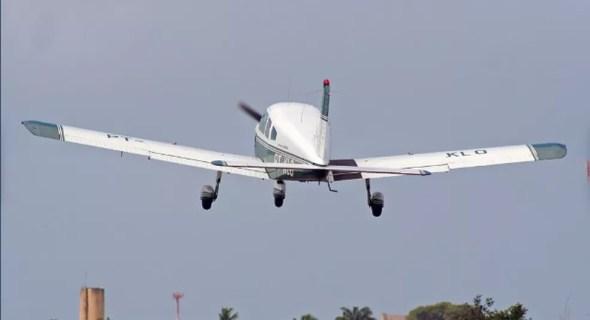 Avião que caiu com Gabriel Diniz — Foto: Arquivo pessoal