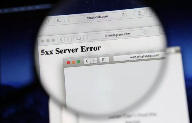 5xx Server Error: entenda o erro que tirou WhatsApp, Facebook e Instagram do ar