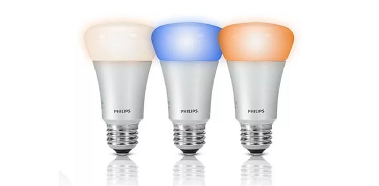 Lâmpadas inteligentes da Phillips chegam ao Brasil por R$ 269 cada  — Foto: Divulgação/Philips