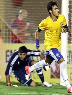 Neymar, Brasil x Argentina (Foto: Mowa Press)