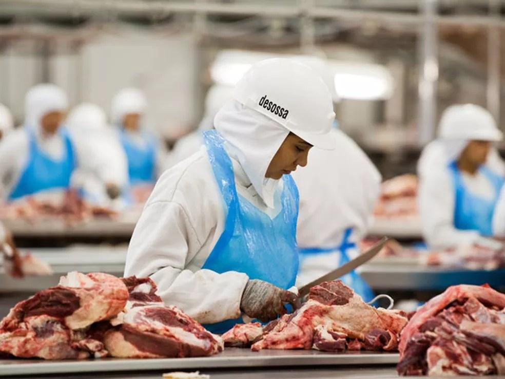 Crescem as expostações de carne bovina do Brasil — Foto: Divulgação/Abiec