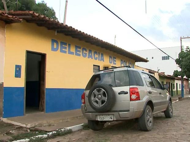 A delegacia da Polícia Civil de Pastos Bons só possui atualmente um investigador (Foto: Reprodução/TV Mirante)