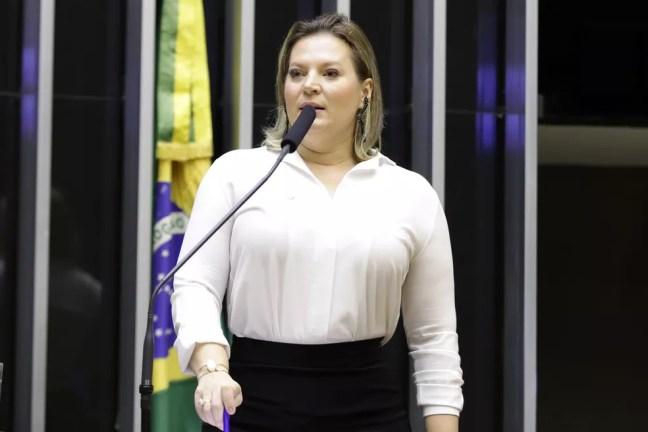 A deputada Joice Hasselmann (PSL-SP), ex-líder do governo no Congresso Nacional — Foto: Najara Araujo/Câmara dos Deputados