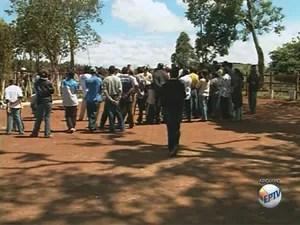 Grupo religioso submeteria membros a trabalho escravo no Sul de Minas (Foto: Reprodução EPTV)
