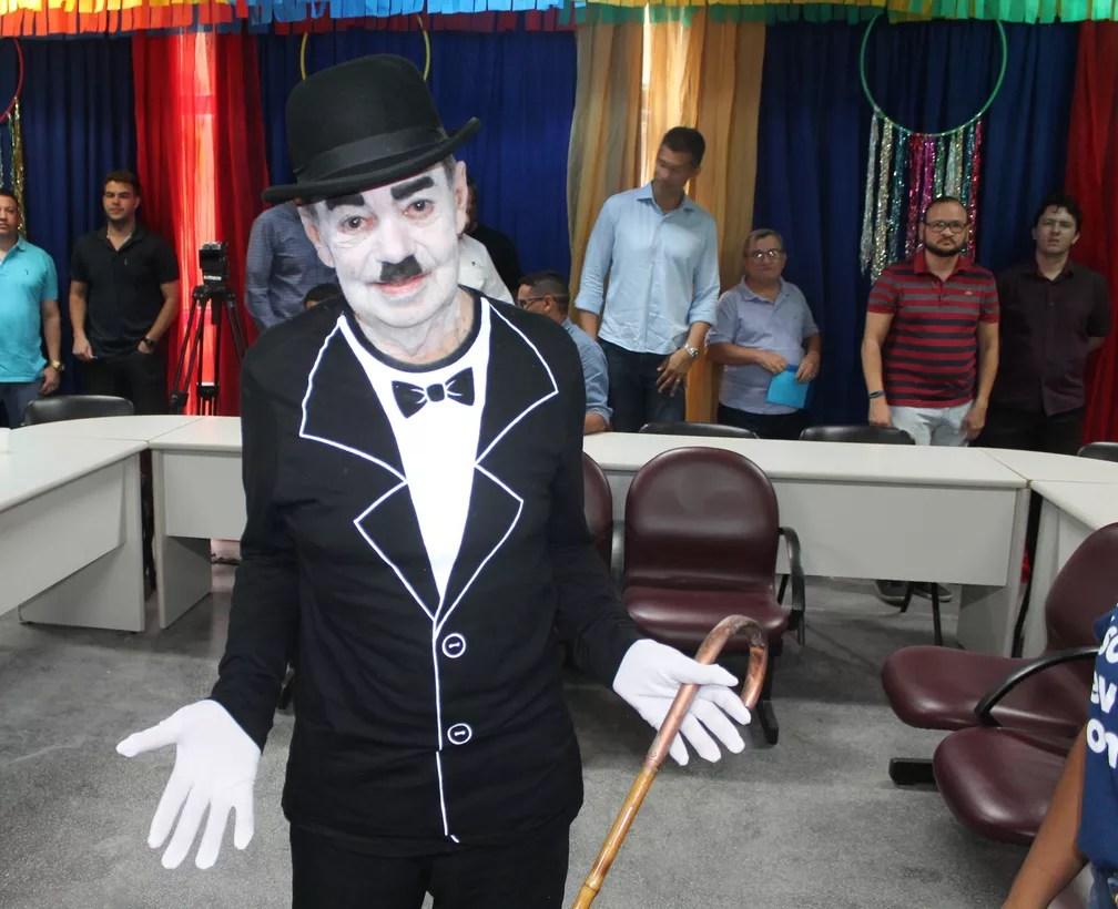 Eribaldo Bezerra, homenageado do carnaval de Petrolina, em 2020 — Foto: Emerson Rocha / G1 Petrolina