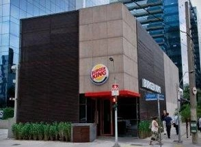 Unidade do Burger King na Av. Faria Lima, em São Paulo (Foto: Divulgação)
