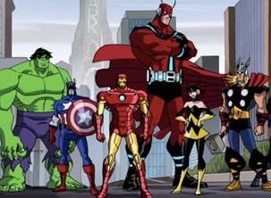 TV Globinho exibe episódios inéditos de 'Os Vingadores' (Foto: divulgação)