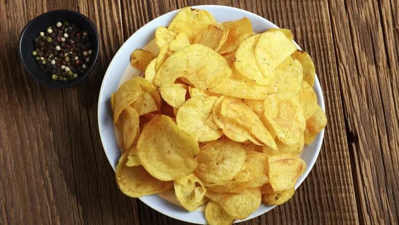 Resultado de imagem para batata chips