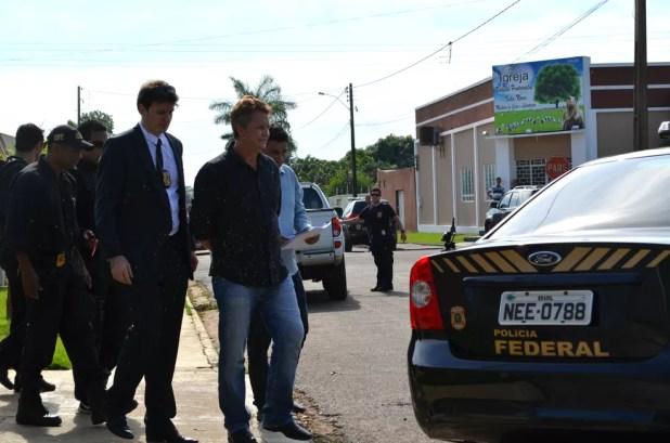Ex-prefeito de Vilhena, José Rover, foi preso pela Polícia Federal (Foto: Aline Lopes/G1)