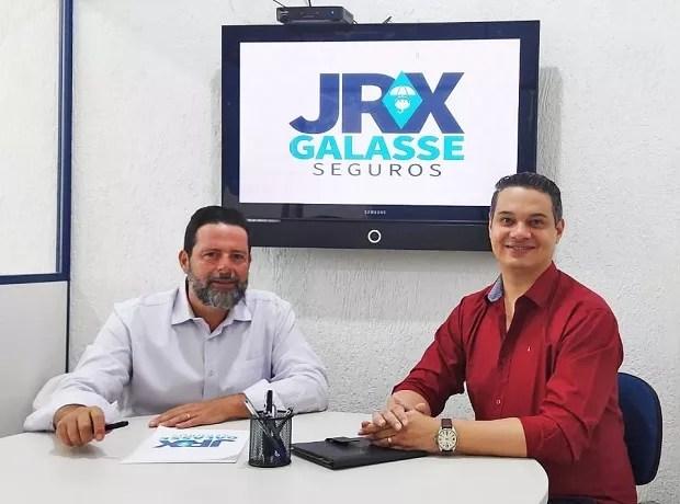 Fabio Galasse, diretor comercial da JRX Galasse e João Ricardo, diretor administrativo (Foto: Divulgação)