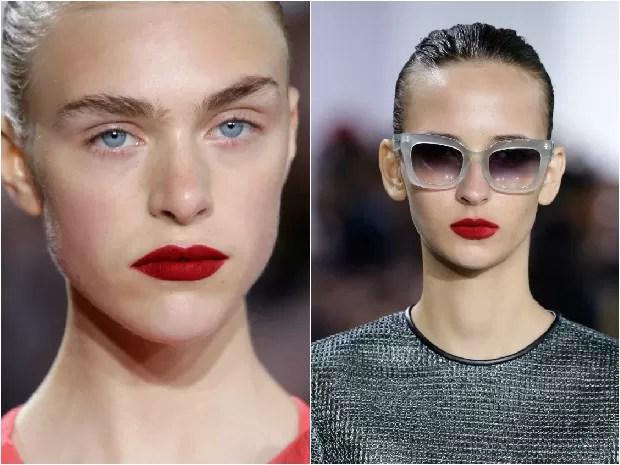 Saiba como deixar o batom vermelho matte perfeito nos lábios (Foto: Getty Images)