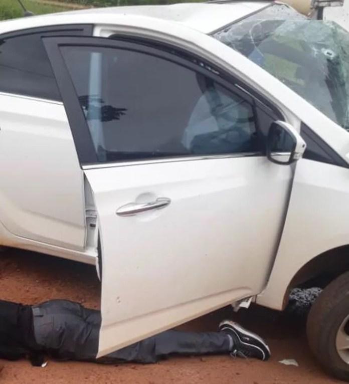 Homem foi morto após cometer roubos em Cacoal (RO) — Foto: Reprodução