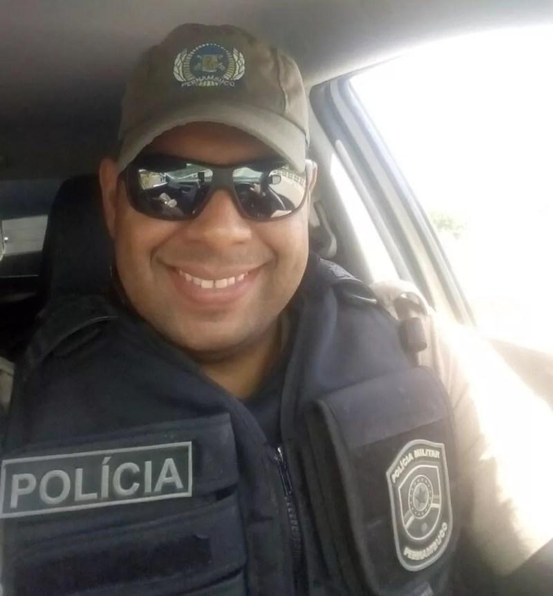 Péricles da Silva é lotado no 10º Batalhão  (Foto: Péricles da Silva/Arquivo Pessoal)