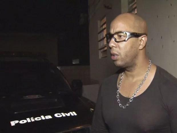 Segurança foi detido após fechamento de bingo em Santos (Foto: G1)