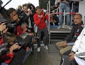 Pep Guardiola bayern de munique amistoso (Foto: Divulgação)