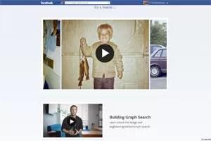 Vídeos explicam como funciona a nova 'busca social' na página do Facebook. (Foto: Reprodução)