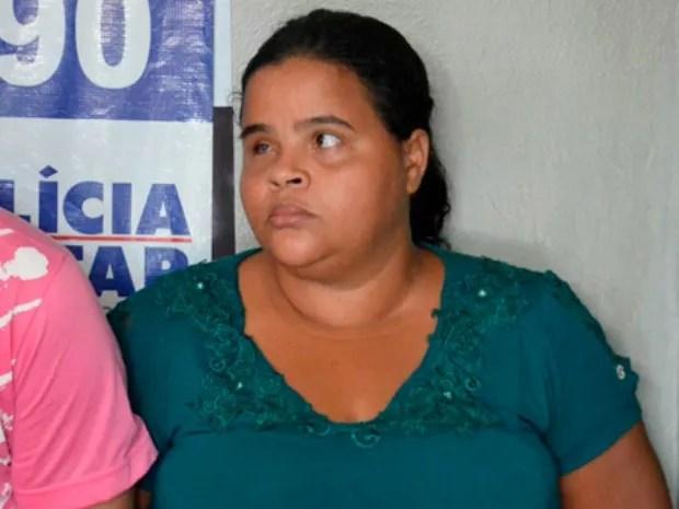 Telma Aparecida, de 32 anos, se passava por juíza de direito, segundo a polícia (Foto: Emerson Dourado/ Gazeta MT)