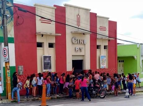 Cinema funciona em Remígio, no Agreste paraibano, e é mantido por Regilson Cavalcante — Foto: Regilson Cavalcante/Arquivo Pessoal