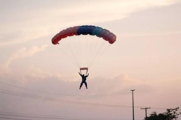 Airton era esportistas e teve a vida limitada pelo acidente — Foto: Airton Ferreira/Arquivo Pessoal