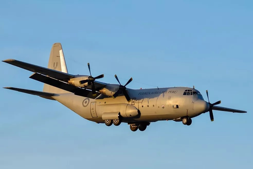 aviao peru - Mais de 100 aeronaves e 14 países participam de exercícios de guerra em Natal