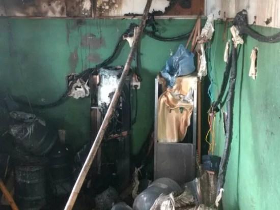 Terminal das Rocas foi alvo de bandidos  (Foto: Divulgação/PM)