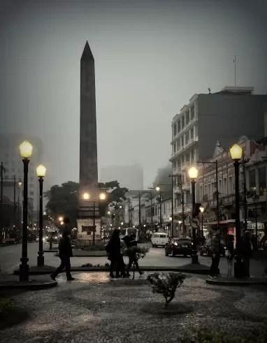 Obelisco de Petrópolis (Foto: Arquivo pessoal/Marco Oddone)