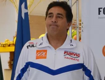 Ricardo Navajas, diretor do Taubaté Vôlei (Foto: Danilo Sardinha/Globoesporte.com)