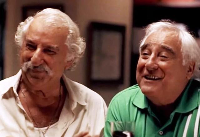 Renato Consorte faz poucas aparições no filme, mas sempre em cenas carregadas de humor — Foto: Reprodução