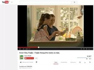 Knorr (Foto: Reprodução/YouTube)