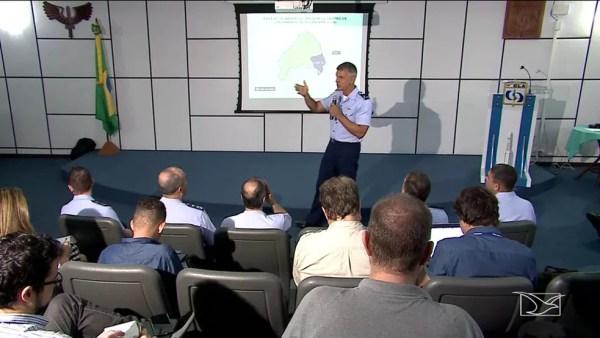 Aeronáutica anuncia avanço nas negociações com os Estados Unidos para utilização do CLA — Foto: Reprodução/TV Mirante
