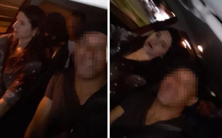 Fotos que Vanusa da Cunha Ferreira teria mandado para amigas horas antes de desaparecer em Goiânia, Goiás — Foto: Reprodução/Arquivo pessoal