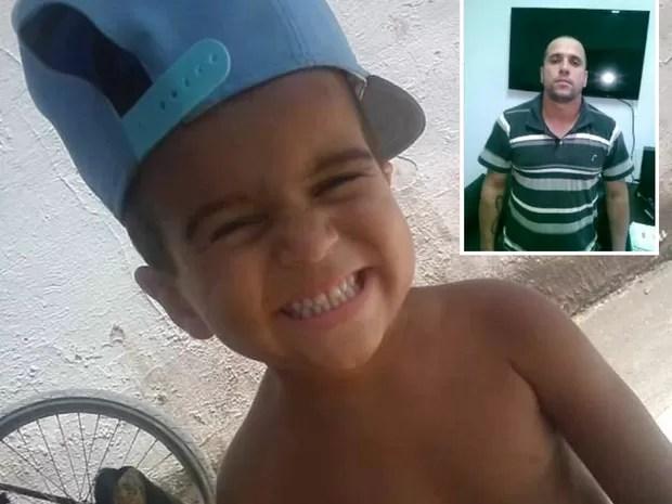 Menino morreu após ser espancado pelo próprio pai em Peruíbe (Foto: G1)
