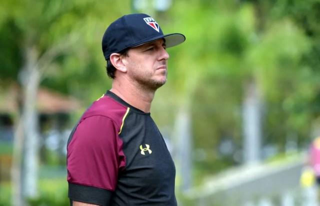 Rogério Ceni ainda não definiu a equipe que jogará na quinta-feira (Foto: Érico Leonan/saopaulofc.net)