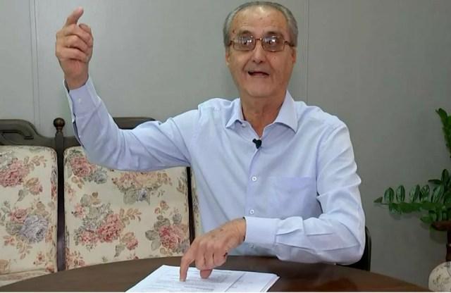 """Para o secretário de Negócios Jurídicos, Antônio Carlos Garms, """"não houve lucro para a Emdurb, nem prejuízo para o município"""" (Foto: TV TEM/Reprodução)"""