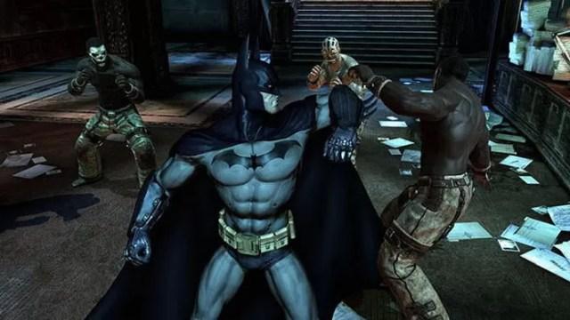 Para os fãs do Homem-Morcego, Batman Arkham Asylum também está em oferta (Foto: Divulgação/Nuuvem)