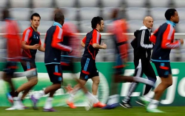Olympique de Marselha treino (Foto: Reuters)