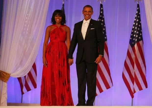 Barack e Michelle Obama (Foto: Agência Reuters)