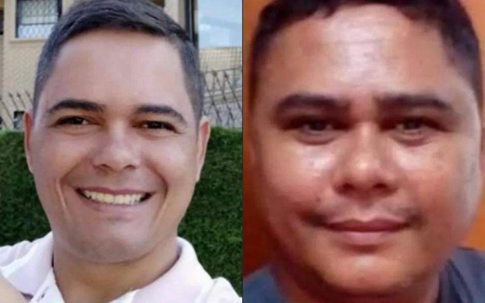 Polícia militar Ariovaldo Camargo e o bombeiro Adelson Camargo morreram de Covid-19, em Catalão, Goiás — Foto: Divulgação/Polícia Militar